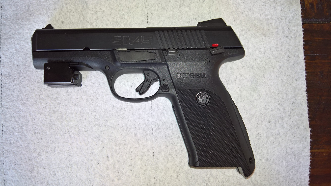 WTS in Florida - Ruger SR45 45 Auto - Like New in Box - 2 Mags - 150 Rds Ammo - Laser-wp_20170210_17_35_42_pro.jpg