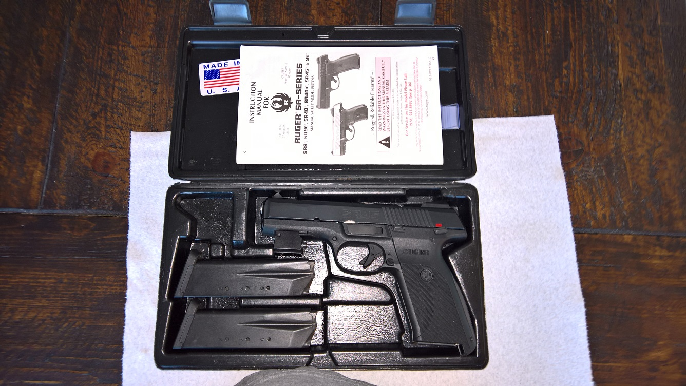 WTS in Florida - Ruger SR45 45 Auto - Like New in Box - 2 Mags - 150 Rds Ammo - Laser-wp_20170210_17_39_20_pro.jpg